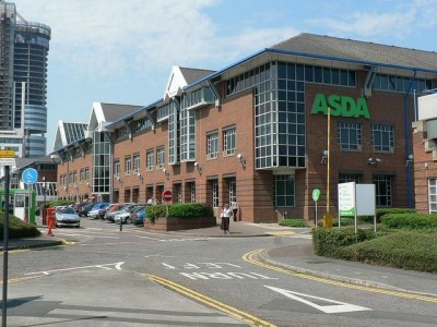 The present day ASDA headquarters in Leeds, West Yorkshire.