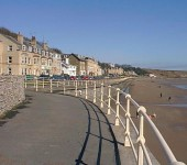 The Beach Front At Filey