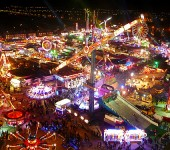 Hull Fair - The biggest in the UK.