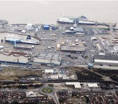 The busy Port of Hull.
