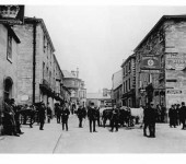 Market Square Date Unknown Wetherby Margaret Gibbins