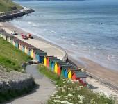 Sally Gaden - Whitby Beach Huts