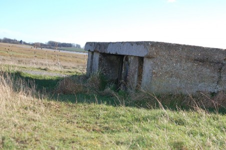WW2 pill box turret
