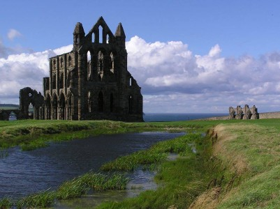 Whitby Abbey was built in 657 AD and left to ruin by Henry VIII