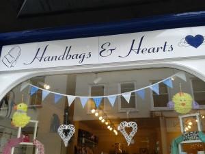 Handbags and Hearts Ripon