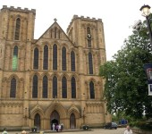 The historic and famous Ripon Cathedral. Giving Ripon it's status as a city.