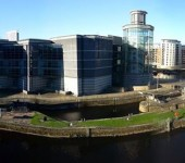 A panoramic shot of teh Royal Armouries Museum in Leeds. Photo sent in by Edward Moss.