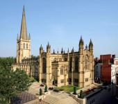 Wakefield cathedral featuring the tallest spire in Yorkshire. (photo credit: yorksphilchoir.co.uk)