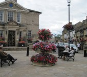 The flower displays around Wetherby have won awards and nationwide recognition. (image credit: wetherby.co.uk)