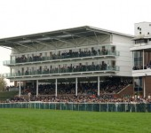 The Grandstand at the famous Wetherby Racecourse
