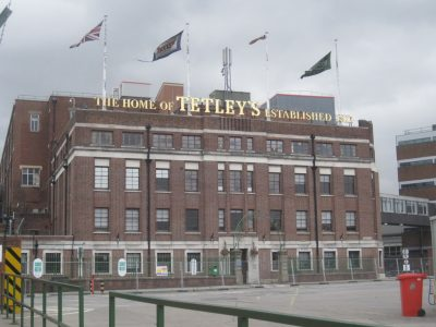 Tetley brewery in Leeds, Photo Credit EG Focus, Flickr, Creative Commons