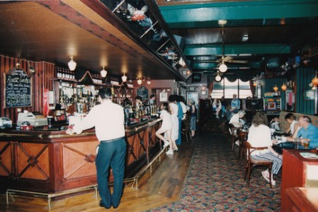 A typical pub in 1980's Yorkshire.