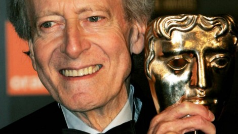 John Barry and his BAFTA award