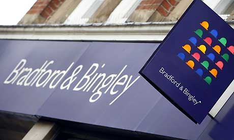 Bradford and Bingley Building society logo.
