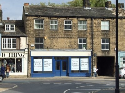 Dacre Son & Hartley's current location. It is now back at Bondgate, just like it was in 1847.