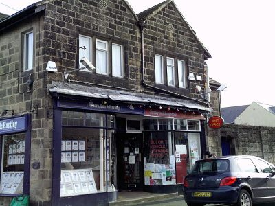 Shop front of Dacre Son and Hartley, Photo credit, MTaylor848, Wikipedia, Creative Commons