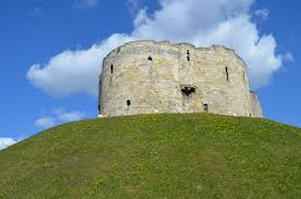 Built between 1245 and 1272. Clifford tower is one of the few remaining medieval fortifications of York city.