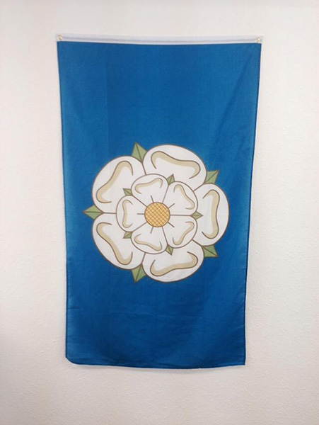 Yorkshire rose flag i m from