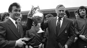 Clough and Taylor led Derby to win the title for the first time in their history.