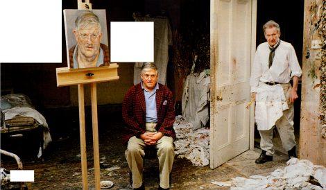 David Hockney & Lucian Freud - dou_ble_you - Flickr - CC