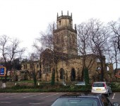 All Hallows(Saints) church Pontefract. - tony clegg