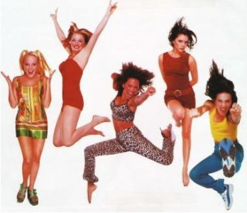 "With a smash hit in 29 countries and their popularity on the new ""Box"" video channel Melanie Brown and The Spice Girls had arrived with a bang. (Image source: www.rokpool.com)"