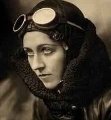 Amy Johnson, the first woman to fly around the world.