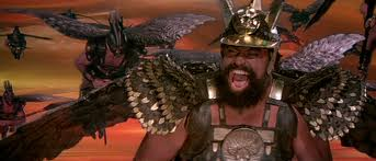 Brian Blessed as Blessed King Vaultan, a character he would act out on the playground with his friends in his childhood