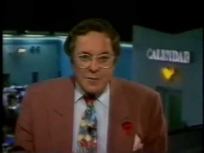 Richard Whiteley as the host of Countdown.