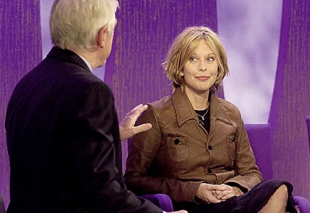 Michael Parkinson's interview with Meg Ryan on the Parkinson chat show.
