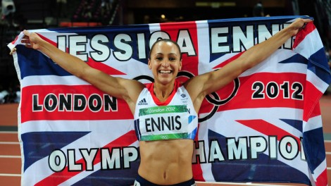 jessica ennis hill, olympic champion