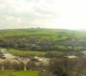 A view of the colne valley,huddersfield, west yorkshire angela jones