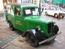 Changing times the jowett bradford van