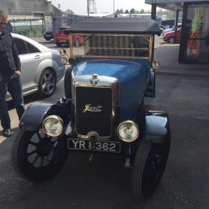 Our new 1926 jowett long four tourer