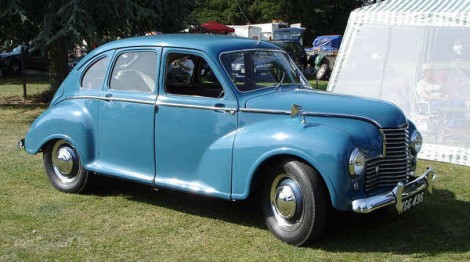 The jowett javelin a new car for a new world