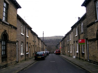 Fanny street in Saltaire, is named after one of Sir Titus Salt's children. Picture credit: Betty Longbottom wikipedia Creative commons