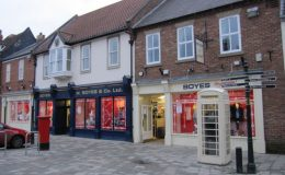 Shop front of Boyes, Photo credit, John S turner, Geograph, Creative Commons
