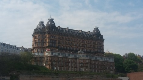 The Grand Hotel on Scarborough seafront was once the largest in the world. Picture credit: Jonathan Rudd