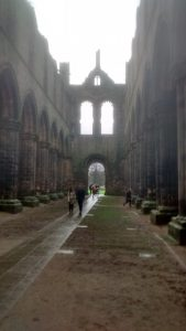 The haunting Kirkstall abbey was an important abbey for the region in Medieval Times. Picture crdit: Jonathan Rudd.