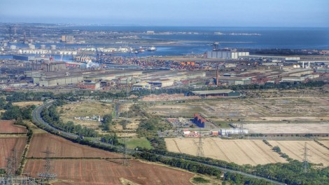 Middlesbrough; from just four farms tomajor port in 150 years. Picture credit: Mick Garrat geograph wikipedia creative commons,