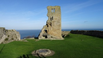 The medieval ruined castle is a prominent reminder of Scarborough's history. Picture credit John Sykes (IFY community)