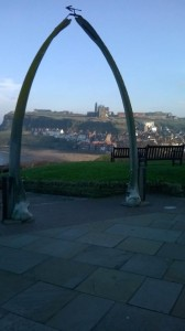 The famous Whitby whalebones and Abbey in the background. Picture credit: Wendy Kenniwell (IFY Community)