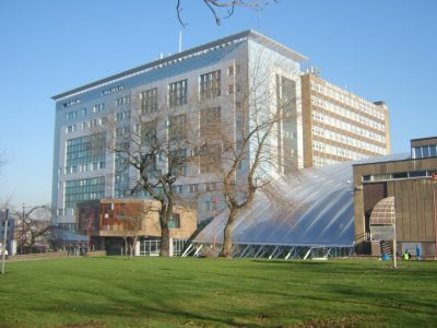 The University of Bradford is an important seat of learning. Picture credit: nr Turner GNU free document license