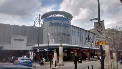 The Frenchgate centre is Doncaster's principal shopping centre. Picture credit: Jonathan Rudd