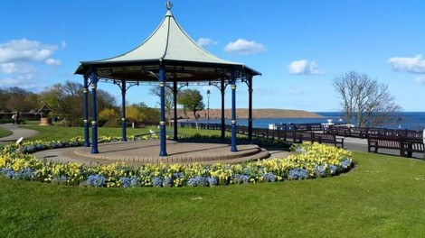 A bandstand in the Filey Crescent gardens. Picture credit: John Casey (IFY community)