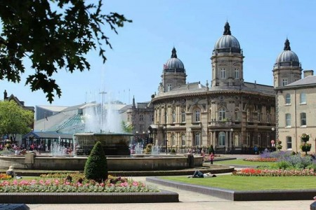Queen's gardens provides a pleasant greenspace in the City Centre. Picture Credit: