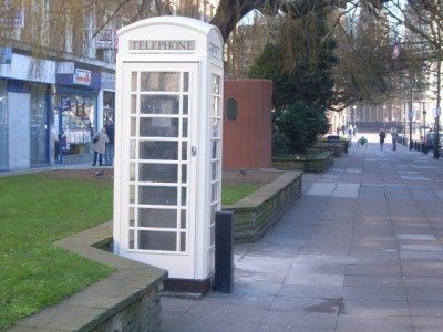 Hull cream telephone boxes