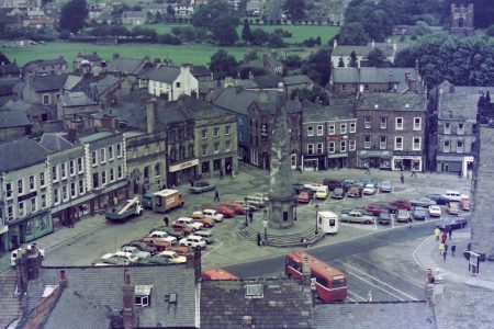 Richmond marketplace pictured in 1975. Picture credit: fotorus flickr creative commons.