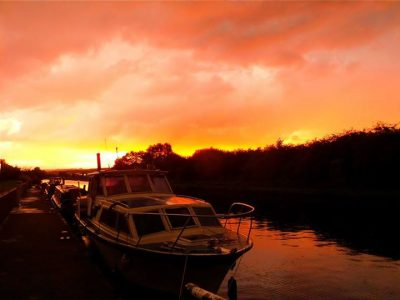 Sunset over the river Don, Rotherham, Photo Credit Rachel Marsden (IFY Community)