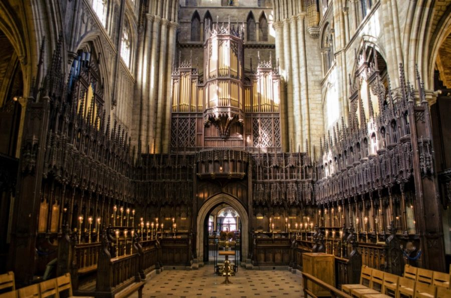 Ripon cathedral inside
